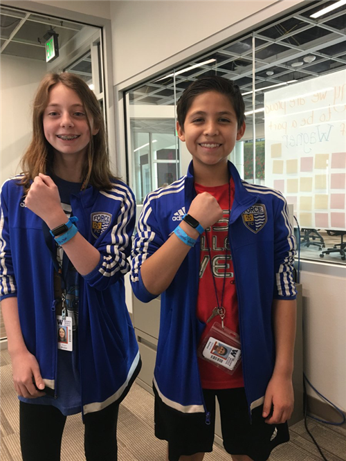 cb72b031be ... which were counting the number of steps they were taking each day.  Their total steps helped earn a financial donation for clean water in ...