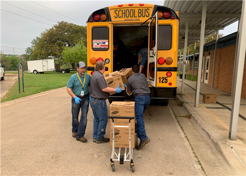 Backpack Buddies Program Goes The Extra Mile For Gisd Students