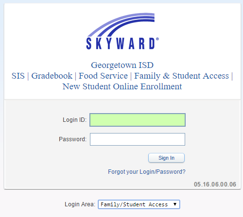 Skyward Family Amp Student Access Parent Accounts Amp Logins